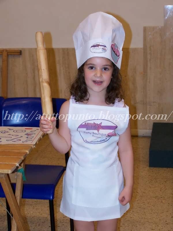 Come Fare Grembiuli Da Cucina Per Bambini.A Tutto Punto Corso Di Cucina Per Bambini A Roma