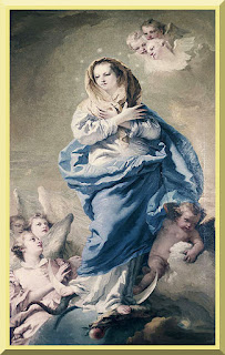 """The Immaculate Conception"" by Giovanni Domenico Tiepolo - PD-1923"