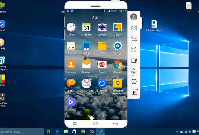 عرض شاشة هاتف الأندرويد على الكمبيوتر والتحكم فيه مع تطبيق Wondershare