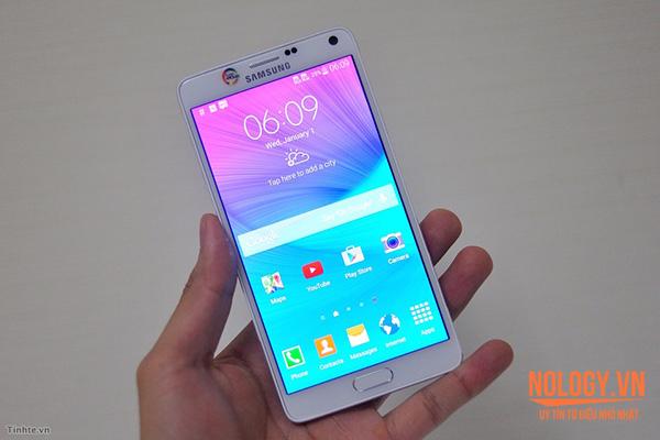 Samsung Galaxy Note 4 cũ 2 sim không có sự khác biệt