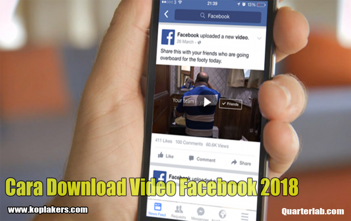 Cara download video dari facebook di pc terbaru