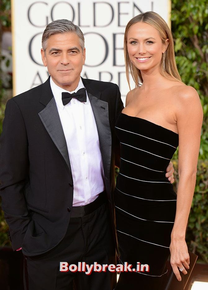 George Clooney with Stacy Keibler, List of Sports star break-ups Pictures - Cricket, Tennis, Golf, Basketball