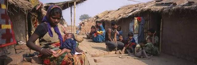 Indians Below Poverty Line.