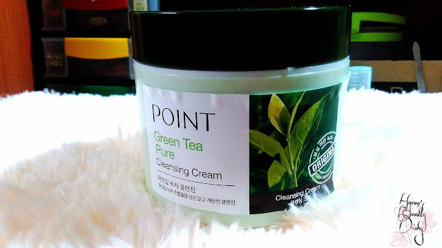 Review; POINT's Green Tea Pure Cleansing Cream