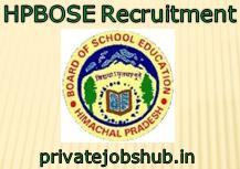 HPBOSE Recruitment