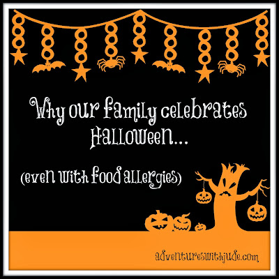 celebrating halloween with food allergies