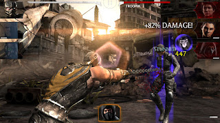 Mortal Kombat ialah game fighting yang terkenal dengan episode sadis berdarah Unduh Game Android Gratis Mortal Kombat X apk + data