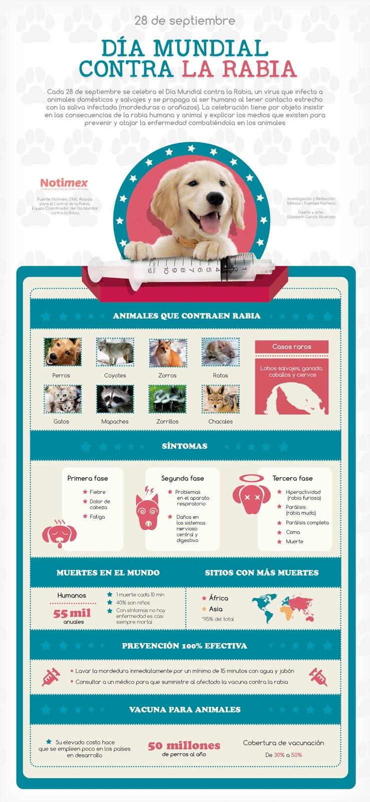 infografia dia mundia contra la rabia