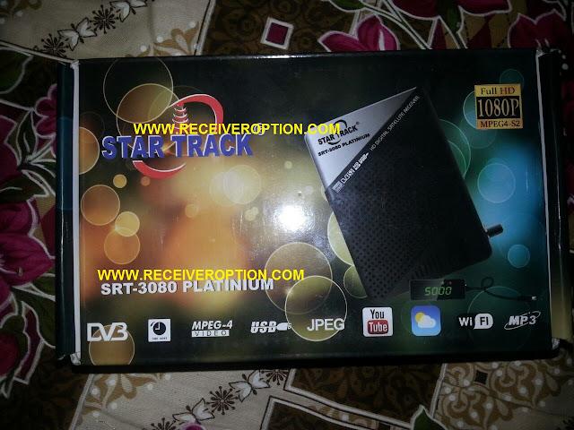 STAR TRACK SRT-3080 PLATINIUM HD RECEIVER BISS KEY OPTION