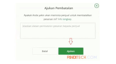 Cara Membatalkan Pesanan di Tokopedia (Sudah Transfer)