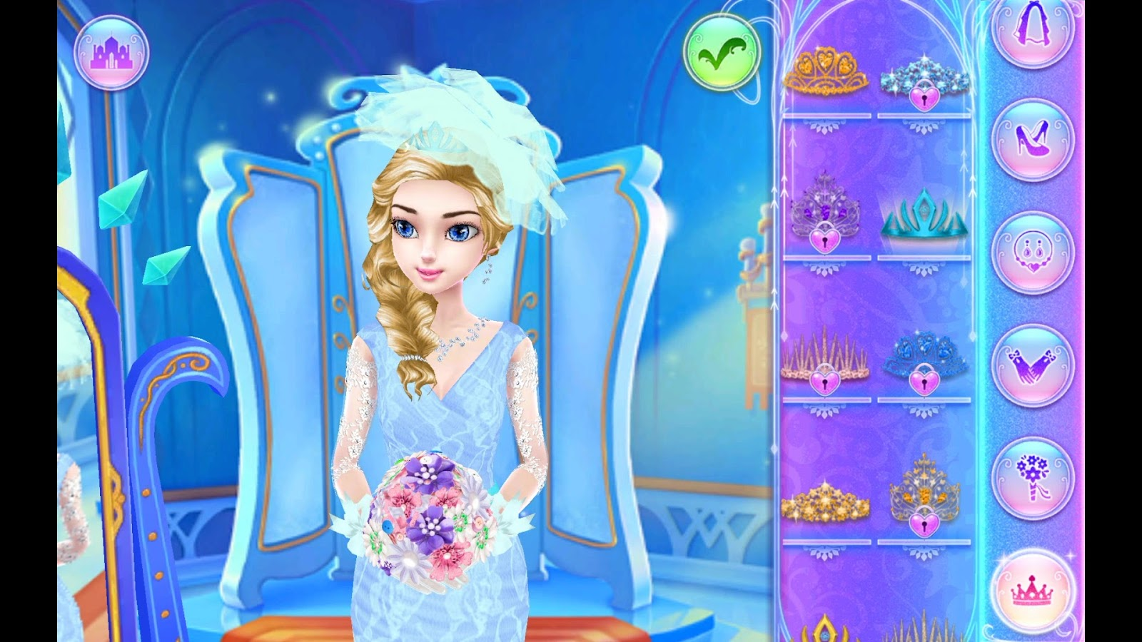 Dream Ice Princess - Wedding Day Game Review 1080p ...