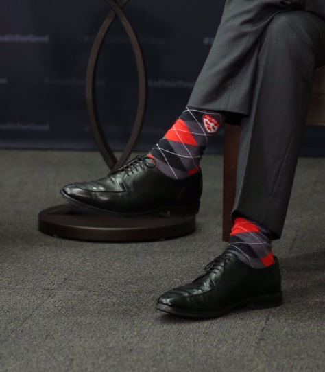 Image result for Trudeau's socks