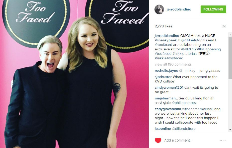 Too Faced X Nikkie Tutorials Collaboration Spill The Beauty