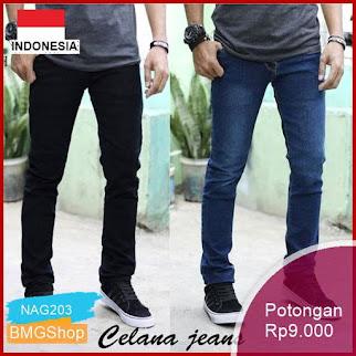 NAG203 Celana Jeans Panjang Pria Premium Murah Bmgshop