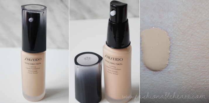 bbloggers, bbloggersca, canadian beauty bloggers, beauty blog, shiseido, influenster, canada, the bay, sephora, synchro skin, liquid foundation, neutral 2, review, swatches, rouge rouge lipstick, ruby copper, inkstroke eyeliner, ultimune power infusing concentrate