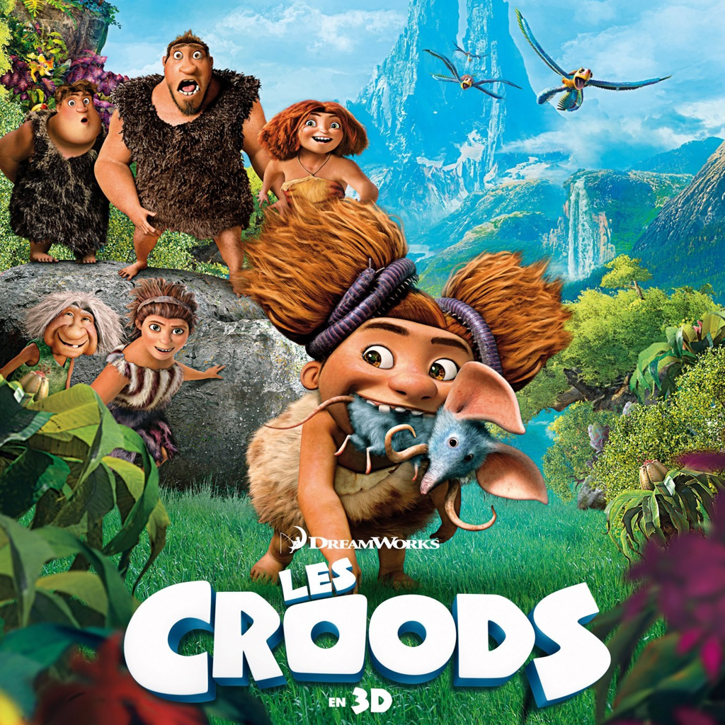 This is a graphic of Challenger The Croods Free
