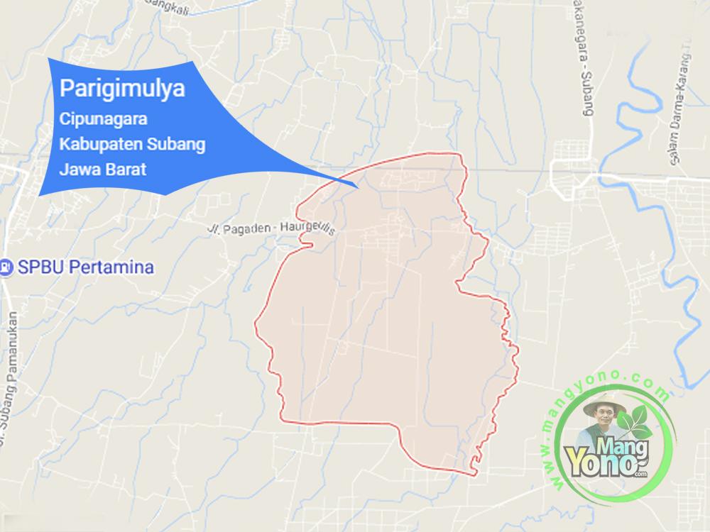 Desa Parigimulya, Kecamatan Cipunagara