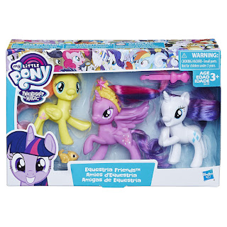 Equestria Friends Set #2 - Fluttershy Twilight Rarity