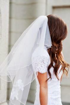 Fryzury ślubne Welon Na Rozpuszczonych Włosach Blog O