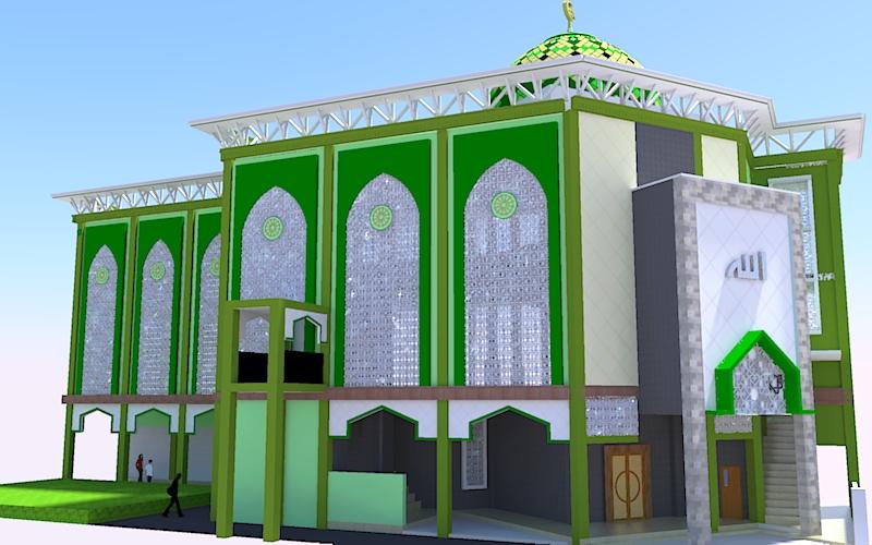 Berita Arsitek Sipil Contoh Gambar Autocad Masjid 3 Lantai Bag 3