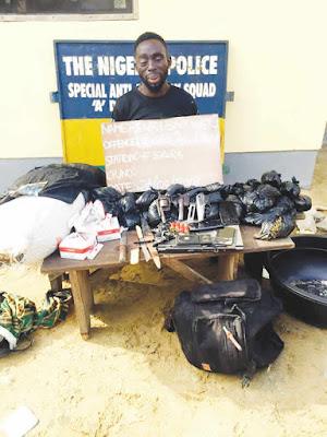 Top Drug Baron & Robbery Gang Leader Nabbed By SARS