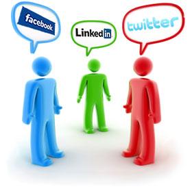 Ilustração sobre uso de médicos nas redes sociais