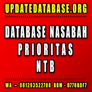 Jual Database Nasabah Prioritas Nusa Tenggara Barat