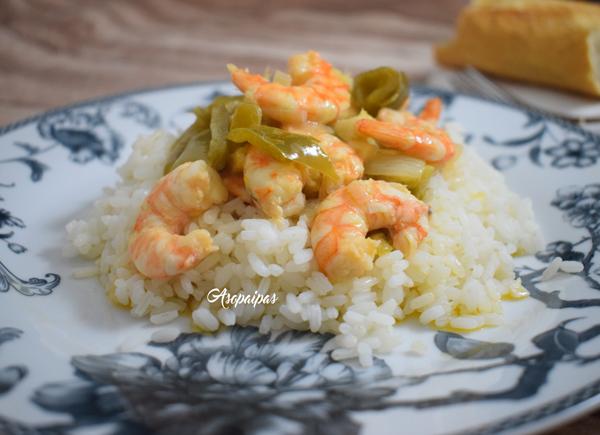 Langostinos al Estilo Criollo (Shrimp Creole)