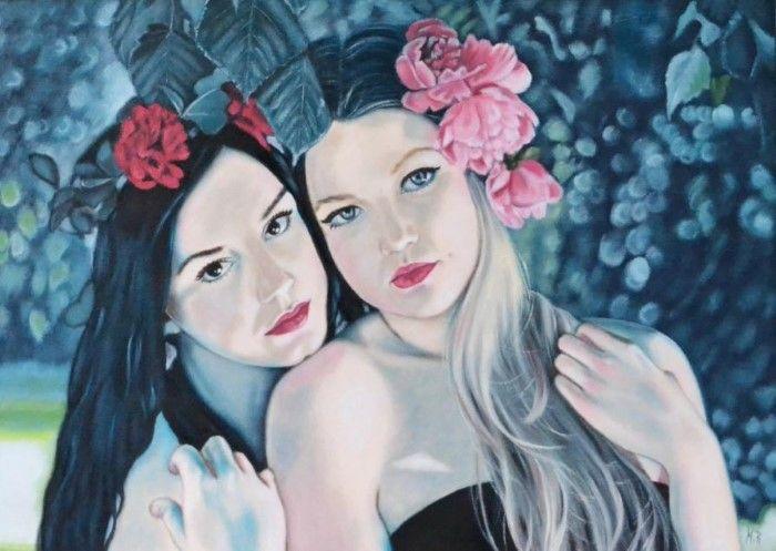 Польский художник. Monika Rembowska
