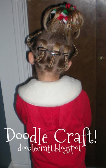 Doodlecraft Cindy Lou Who Hairdo