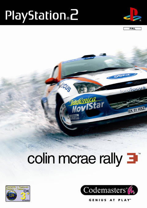 Colin McRae Rally 3 PAL PS2