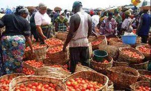 Lagos mainland market