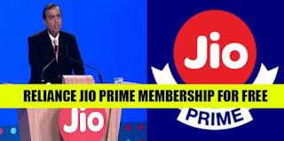 Get free Jio Prime