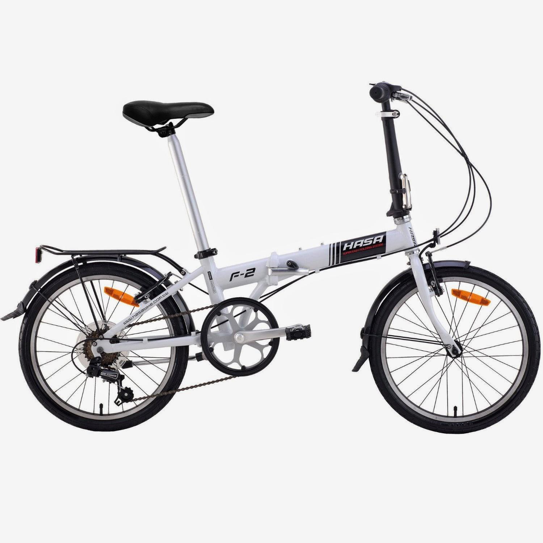 exercise bike zone  hasa folding foldable bike sram 6