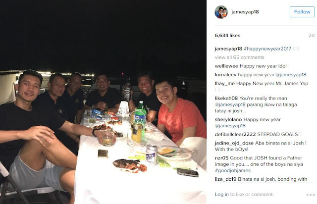 LOOK: James Yap Was Seen Bonding With Josh Aquino On New Year's Eve!