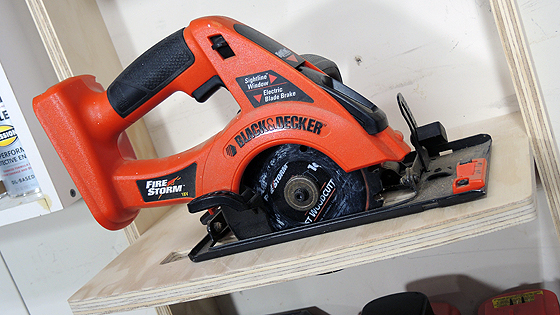 Circular Saw Shelf