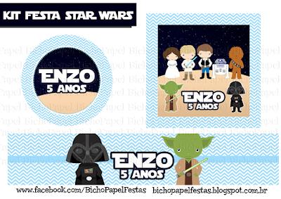 Kit Festa Star Wars Guerra nas Estrelas