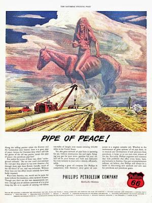 "Phillips Petroleum ""Pipe of Peace!"""