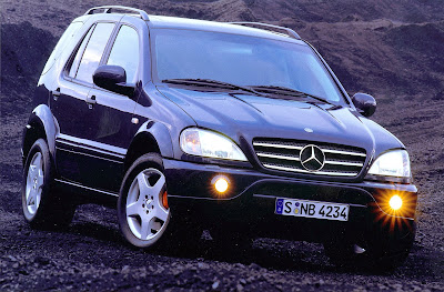 Mercedes Benz ML55 AMG