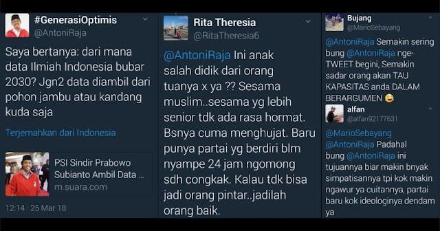 "Nyinyirin Pidato Prabowo ""Indonesia Bubar 2030"", Sekjen PSI Kena Semprit Warganet"