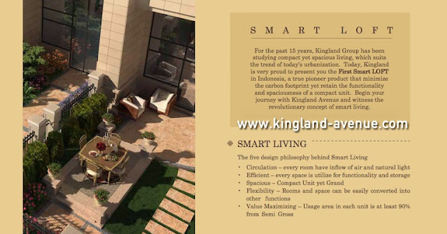 Kingland Avenue Serpong Smart Loft Apartemen