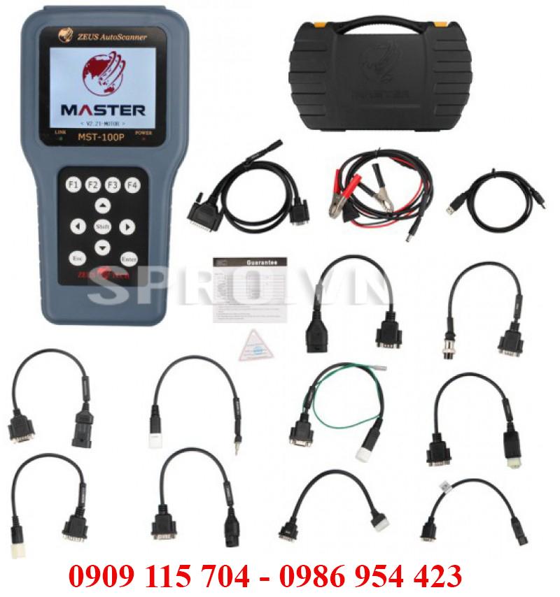 Máy chuẩn đoán lỗi xe máy MST-100P giao diện tiếng việt