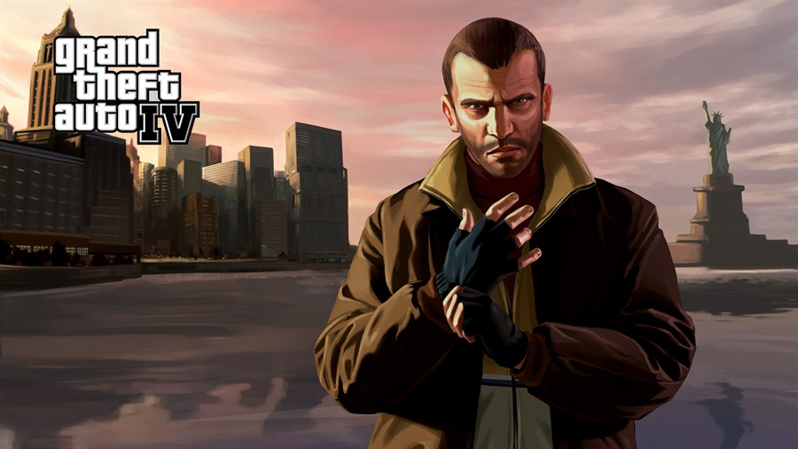 Grand Theft Auto IV Free Download Poster