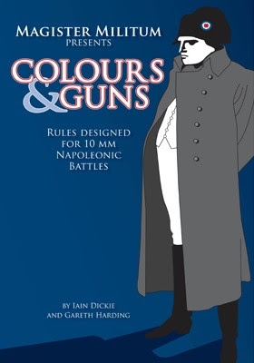 Colours & Guns 10mm Napoleonic Rules to Debut at Salute