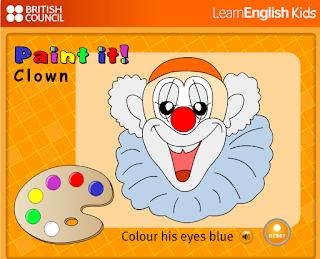 http://learnenglishkids.britishcouncil.org/sites/kids/files/flash_uploads/language_games/node_653/kids-games-paint-clown.swf