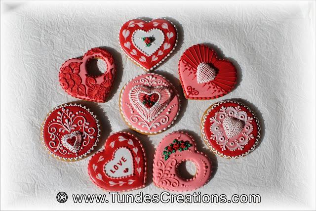 Valentine's cookies by Tunde Dugantsi