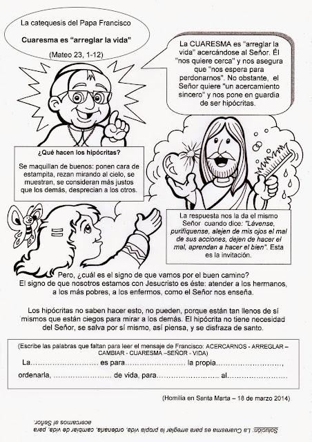 La Catequesis (El blog de Sandra): febrero 2016