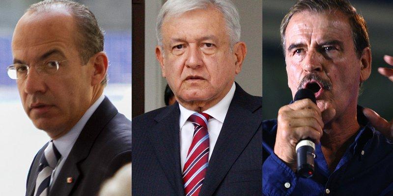 """""""Fox y Calderón podrían pagar su seguridad si ellos quieren, es cuestión de voluntad"""", AMLO"""