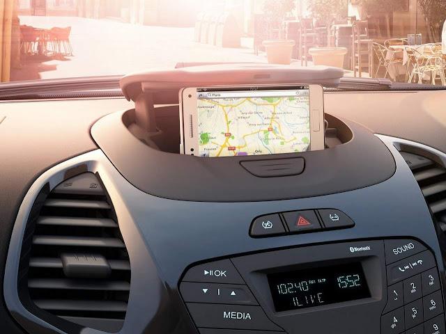 Novo Ford Ka 2017 - interior