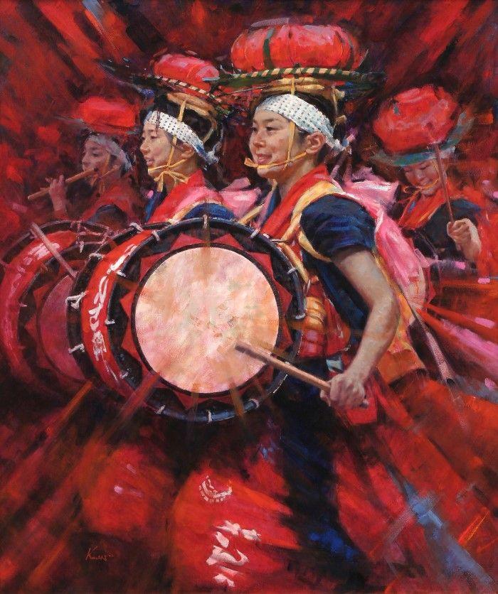 Смесь импрессионизма с реализмом. Clement Kwan